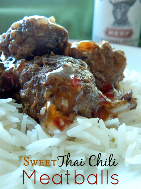sweet thai chili meatballs (sweetandsavoryfood.com)