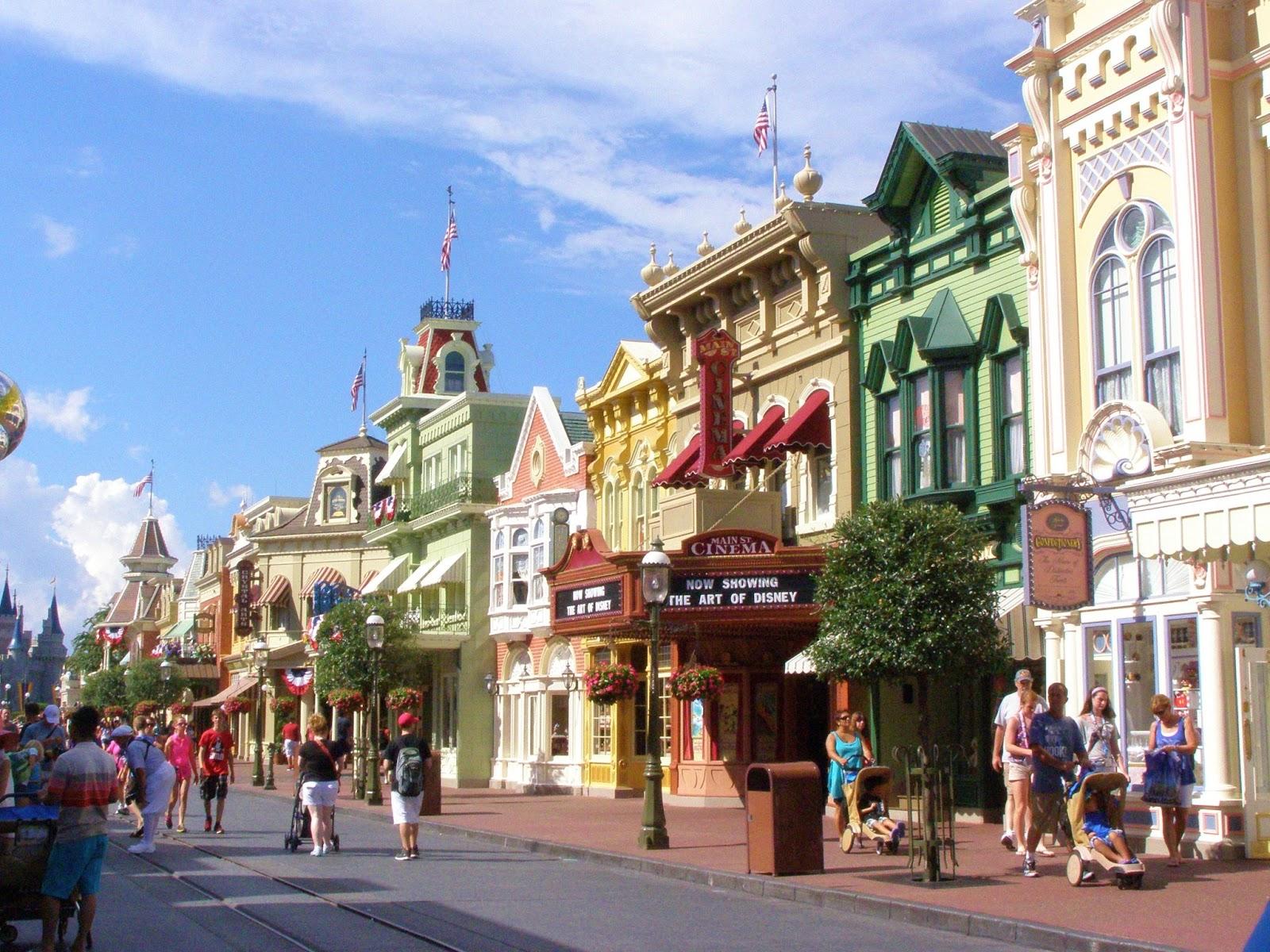 Main Street Usa Disneyland Restaurants