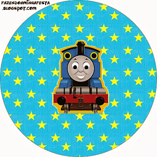 Thomas the Train Toppers or Free Printable Candy Bar Labels.