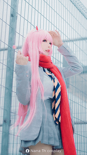 Nana Th cosplay - Zero Two Cosplay Wallpaper
