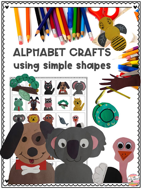 https://www.teacherspayteachers.com/Product/Alphabet-Crafts-from-Simple-Shapes-For-Little-Kids-3222241