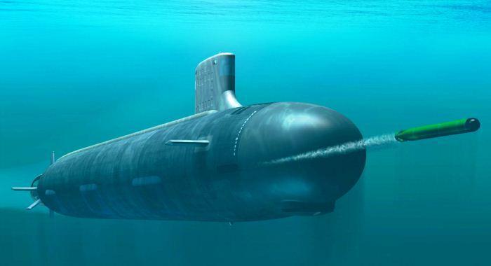 Peluncuran torpedo