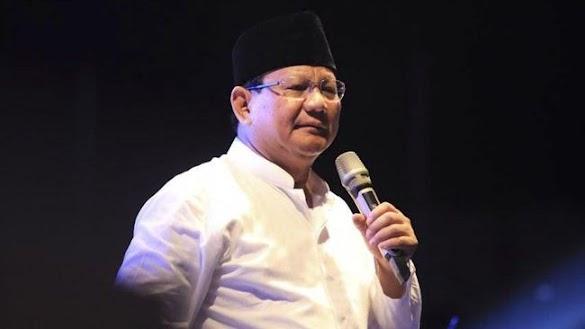 Prabowo Curiga Pembakaran Bendera Kalimat Tauhid untuk Adu Domba