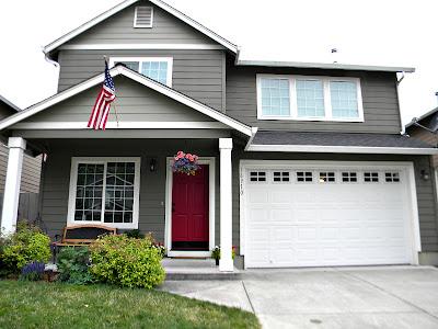 exterior door paint color