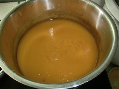Resipi bubur labu kuning yang mudah disediakan, dan sedap dimakan