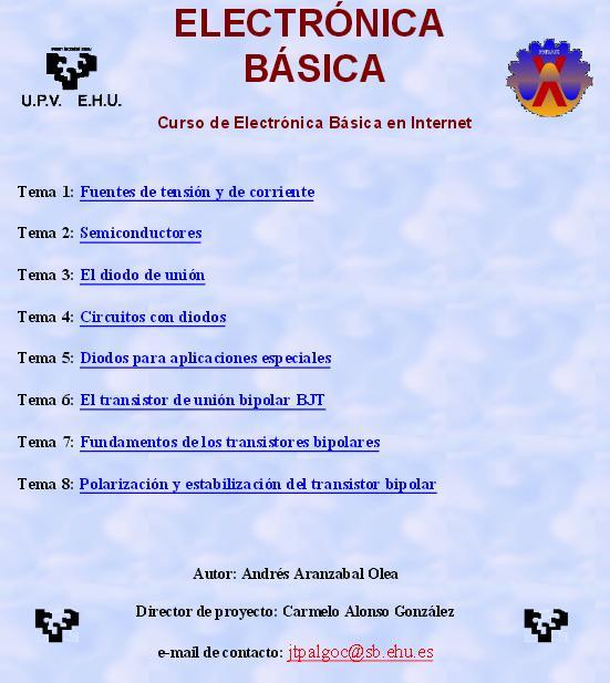 Bricotronika curso de electr nica b sica for Curso de cocina basica pdf