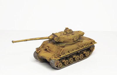 MDV27   M50 Sherman 'Cummins', M4A3 hull, French 75mm