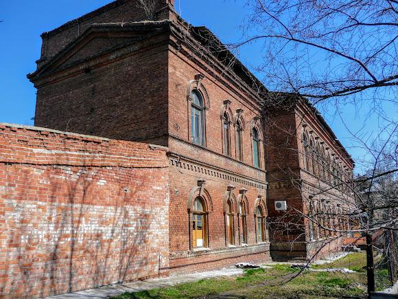 Славянск. Первая городская больница. 1900 г. Хирургическое отделение