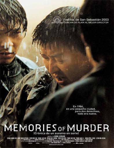 Ver Memorias de un asesino (Memories of Murder) (2003) Online