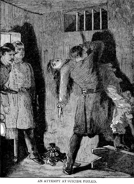 1882 NYC jail cell suicide illustration