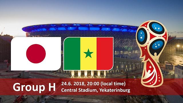 اهداف مباراة اليابان والسنغال Japan vs Senegal في مونديال 2018 في روسيا