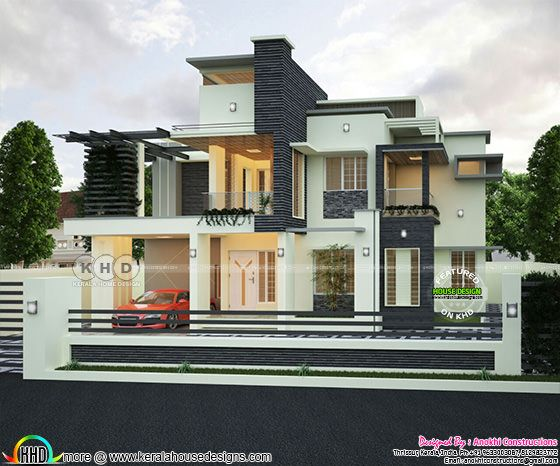 2320 square feet 3 bedroom decorative house