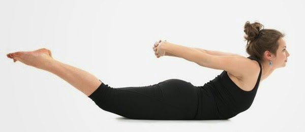 Reverse Boat Pose for Toned Butt