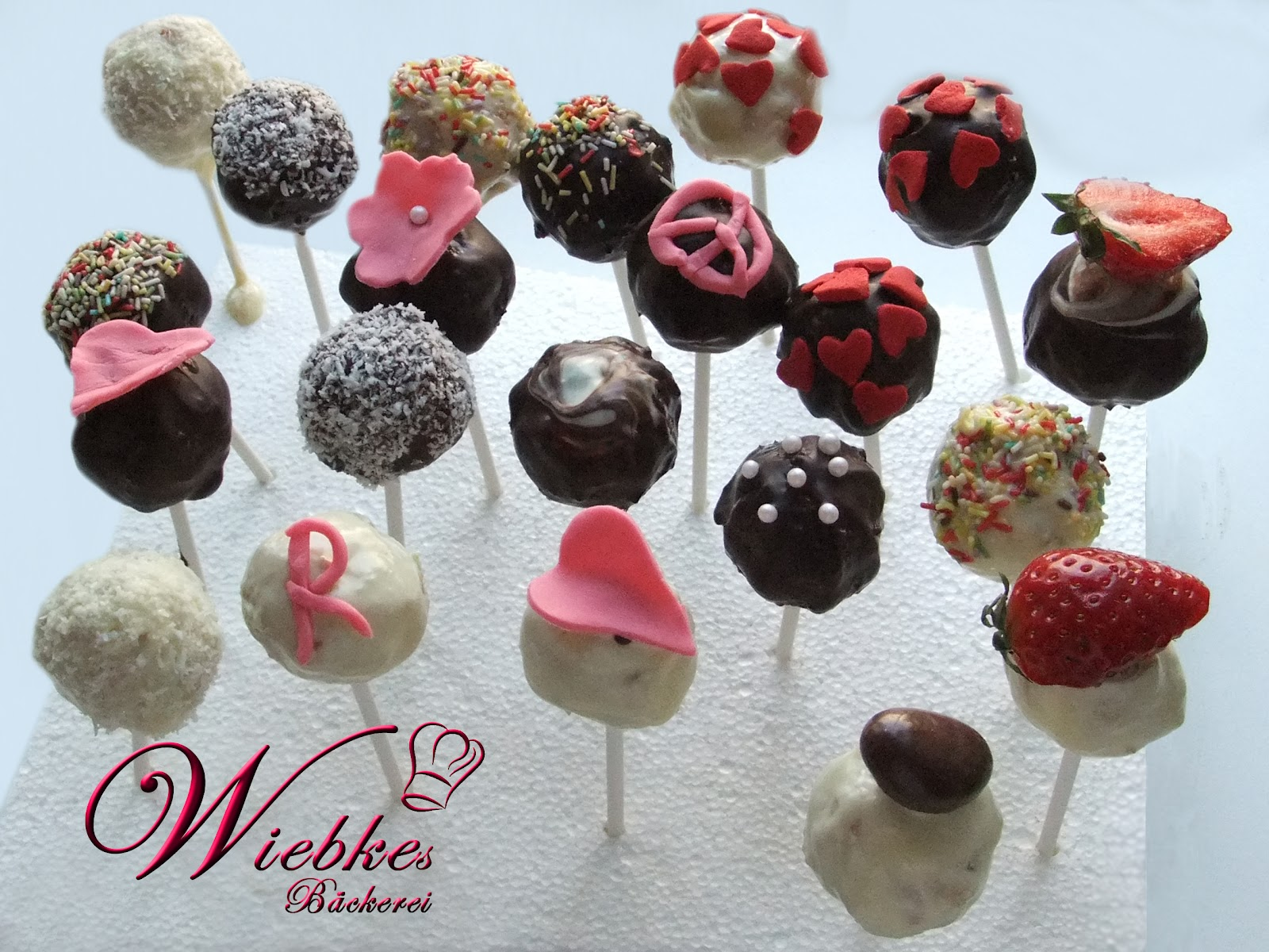 wiebkes b ckerei cake pops. Black Bedroom Furniture Sets. Home Design Ideas