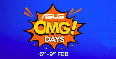 ASUS OMG Days offer discounts on ZenFone Max Pro M2, ZenFone Max M2, ZenFone 5Z all phone offer sale