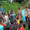 Dit Samapta Polda Banten Laksanakan Trauma Healing untuk Hibur Anak Korban Tsunami.