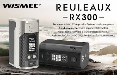 With Wismec Reuleaux RX300, Vape Sefe !