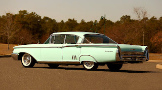 1960 Mercury Montclair Premiere Landau Rear Left