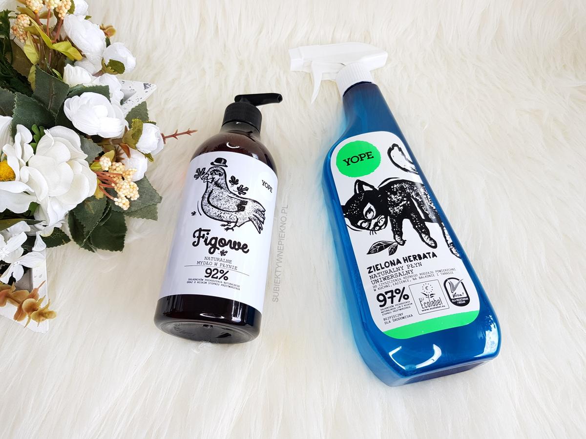 Yope - mydło figa i płyn uniwersalny