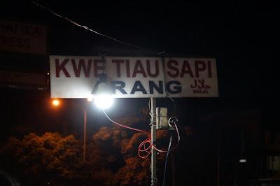 Kwe tiaw Sapi Arang