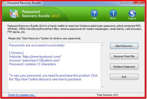 how to get a facebook password hint