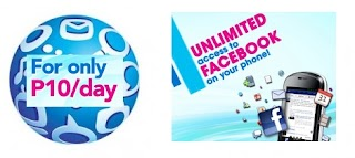 Globe Unli Facebook SUPERFB10 1 day Unlimited FB for 10 pesos