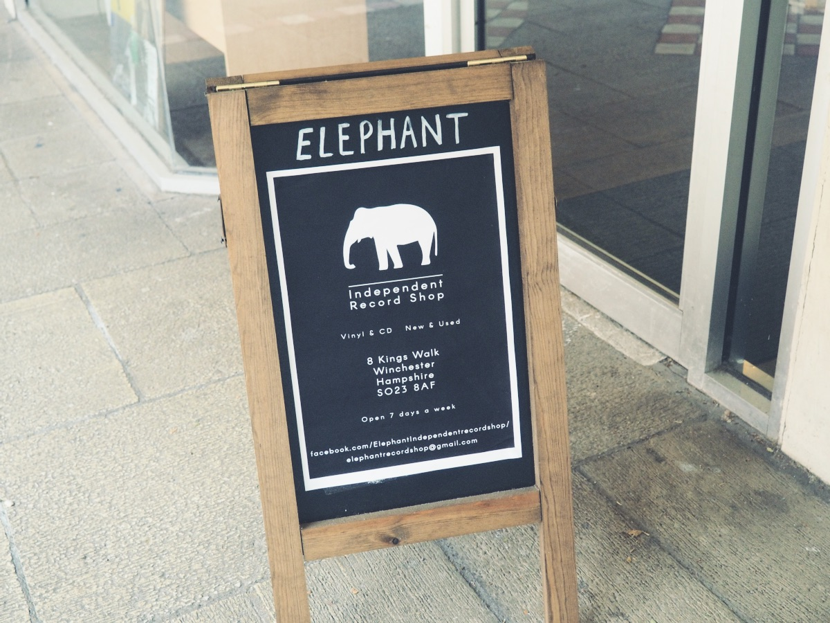 Elephant Independent Record Shop Winchester