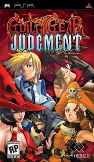 Guilty Gear: Judgment PSP GAME