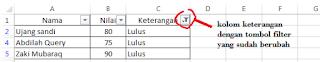 Sort dan Filter pada Microsoft Excel