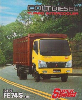 kredit mobil bak kayu colt diesel 2020, truck colt diesel canter 2020