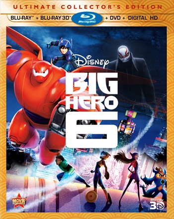 Big Hero 6 (2014) Dual Audio Hindi 720p BluRay 850mb