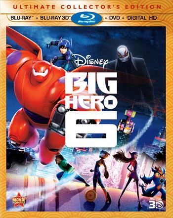 Big Hero 6 (2014) Dual Audio Hindi Bluray Movie Download