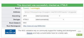 Blog Valid HTML5 singlepost