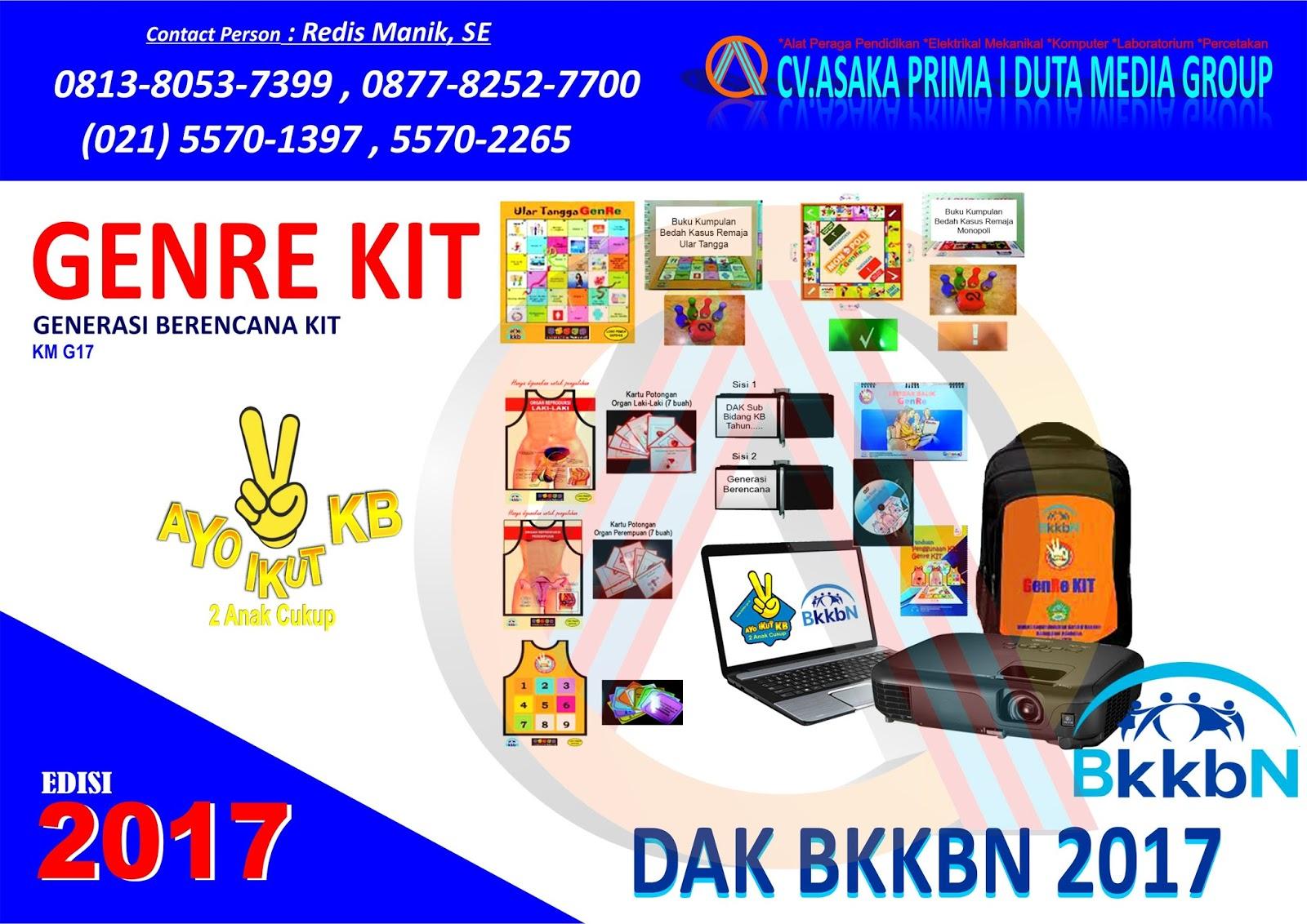Harga GenRe Kit BKKBN 2017