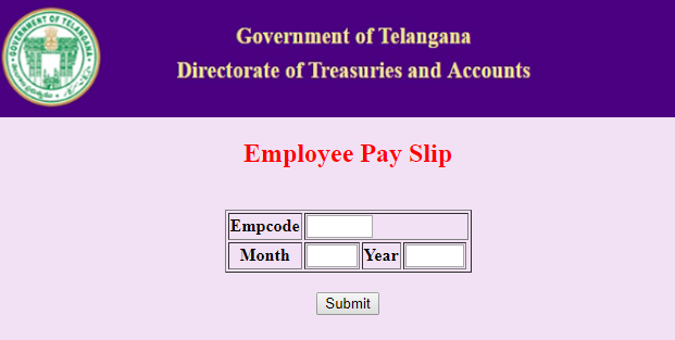 Online employee pay slips salary certificates for ts employees we will get monthly wise pay particulars for salary certificate without ddo code or password it requires only employee id treasury id altavistaventures Images