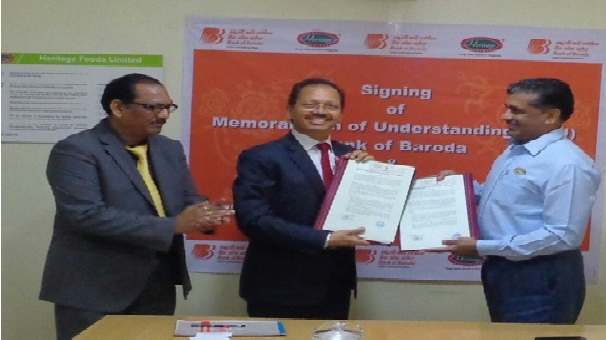 Bank of Baroda enters into MOU with Heritage Foods Ltd. (HFL)