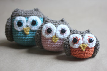 Amigurumi Owl Family : Crochet Owl Family Amigurumi Pattern - Repeat Crafter Me