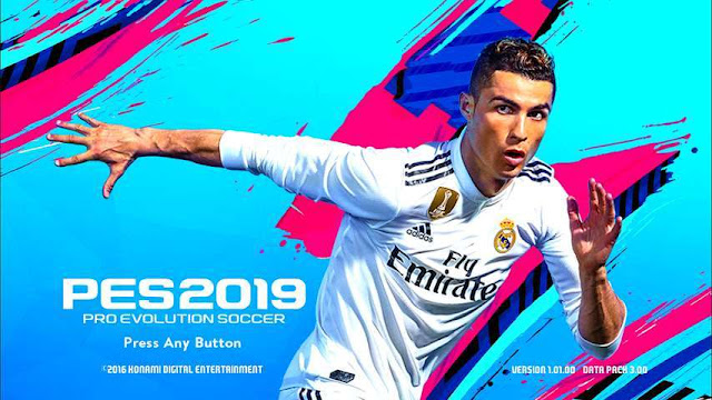 Menu Graphic PES 2019 Style For PES 2017