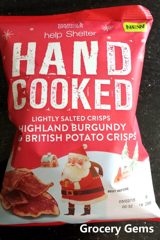 Grocery Gems: M&S Highland Burgundy Red British Potato Crisps