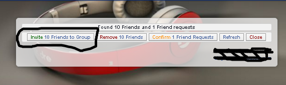 add all friends to facebook group chrome 2016