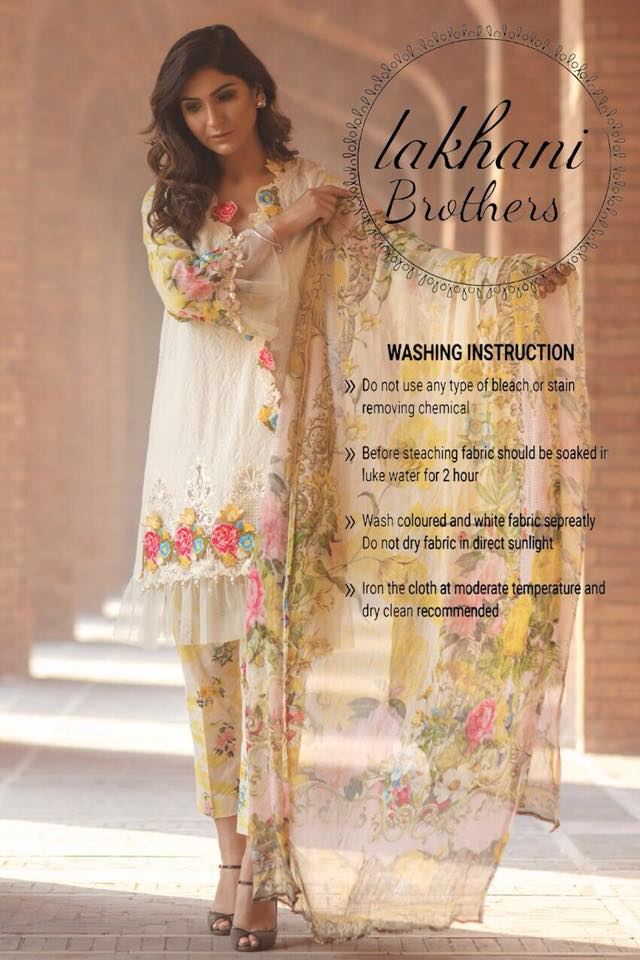 cc1e1c4988 Firdous* *Details:* • Front Full Embroidered Pure Lawn • Embroidered ...