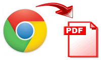 How to save webpage as PDF file.