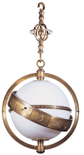 Zodiac Pendant from Circa Lighting