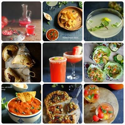 Delicious recipes for cincodemayo