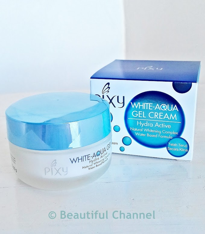 Review: Pixy White-Aqua Gel Night Cream