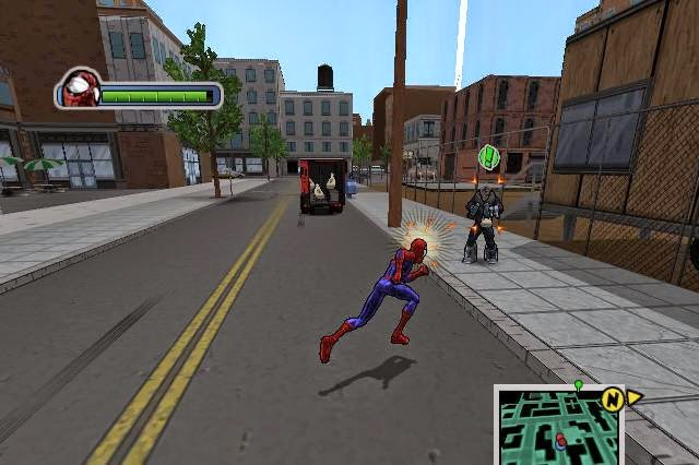 Spider-man: ultimate power java game for mobile. Spider-man.