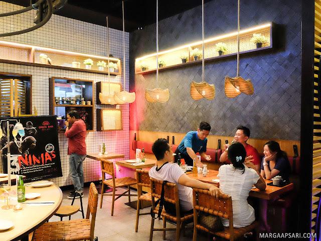 Suasana Gyoza Bar Summarecon Mal Serpong, Tangerang