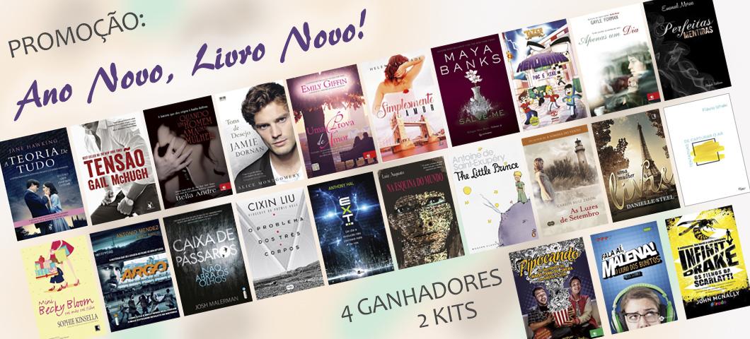 Sorteio: Concorra a muitos livros!
