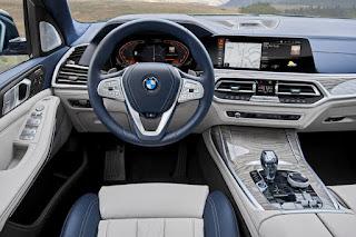 BMW X7 (2019) Dashboard