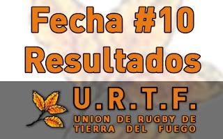 [URTF] Resultados Fecha #10 - Torneo Inicial 2016
